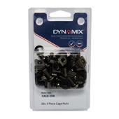 DYNAMIX 20pc Pack 3 Piece M6 Cage Nut (Black)