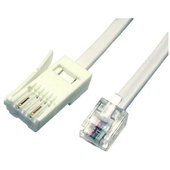 DYNAMIX 10m BT to RJ-11 Cable (For Modem to Phone Line Connection)