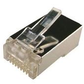 DYNAMIX RJ-45 Shielded Modular Plug Jar (Round, Stranded, 100 Pieces)