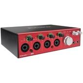 Focusrite Clarett 4Pre USB 18 in 8 out USB Audio Interface with MIDI I/O for Mac & PC