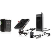 SHAPE 98 Wh Battery Kit D-Box Camera Power And Charger For Canon 5D, 7D, LP-E6 Series