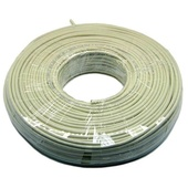 DYNAMIX Cat5e UTP Stranded Cable Roll (100m, Ivory)