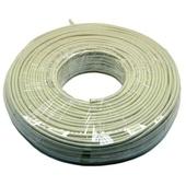 DYNAMIX Cat6 UTP Stranded Cable Roll (100m, Beige)