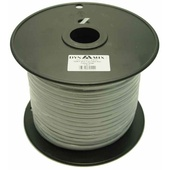 DYNAMIX Roll 6-Wire Flat Cable (100m, Silver)