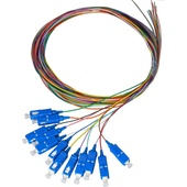 DYNAMIX SC Pigtail OM1 12x Pack Colour Coded (2m)