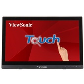 """ViewSonic TD1630 15.6"""" Touch Monitor"""
