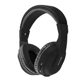 PROMATE Tempo BT Rechargeable Over Ear Headset (Black)