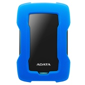 ADATA HD330 1TB Durable USB 3.1 External Hard Drive (Blue)