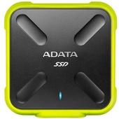 ADATA SD700 256GB USB 3.1 External Solid State Drive (Black/Yellow)