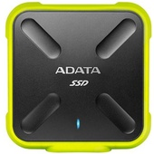 ADATA SD700 1TB USB 3.1 External Solid State Drive (Black/Yellow)