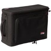 Gator Cases 3U Lightweight Rolling Rack Bag (Black)