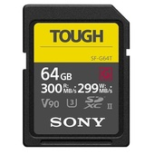 Sony 64GB SF-G Tough series SD memory card