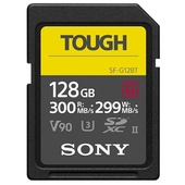 Sony 128GB SF-G Tough series SD memory card