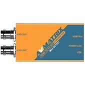 AV Matrix Mini SC1221 HDMI to SDI (Dual)  Pocket-Size Broadcast Converter