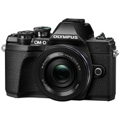 Olympus OM-D E-M10 Mark III Mirrorless Camera with 14-42mm Lens (Black)