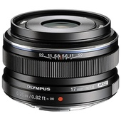Olympus M. Zuiko 17mm f/1.8 Wide Lens (Black)