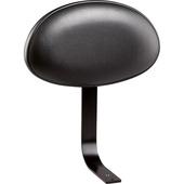 K&M 14032 Backrest for Drum Thrones - Imitation Leather (Black)