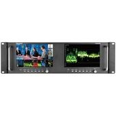 "Marshall Electronics M-LYNX-702W Dual 7"" 3G-SDI Rackmount Monitor"