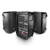 """JBL EON208P 8"""" Packaged PA System with 8-channel Integrated Mixer"""
