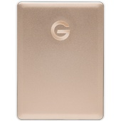 G-Technology 2TB G-DRIVE Mobile USB 3.1 Gen 1 Type-C External Hard Drive (Gold)