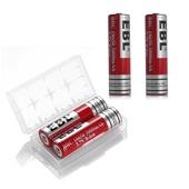 EBL 18650 Replacement Li-ion Batteries for Tilta Nucleus M (2-Pack)