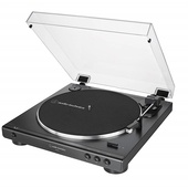 Audio Technica AT-LP60X Fully Automatic Belt-Drive Turntable (Black)