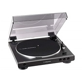 Audio Technica AT-LP60X Fully Automatic Belt-Drive Turntable (Gun Metal)