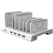 UNITEK 36W 4 Port USB Smart Charging Station.