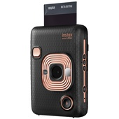 Fujifilm instax Mini LiPlay Instant Film Camera (Elegant Black)