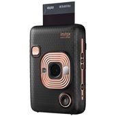 Fujifilm instax Mini LiPlay Instant Film Camera (Elegant Black)