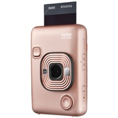 Fujifilm instax Mini LiPlay Instant Film Camera (Blush Gold)