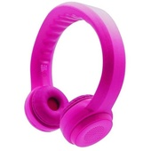 Promate Flexure Kids Flex-Foam Wireless Stereo Headphones (Pink)