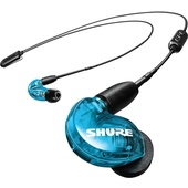 Shure SE215 Sound-Isolating Earphones with RMCE-BT2 Bluetooth Cable (Special Edition, Blue)