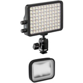 "Luxli Viola 5"" On-Camera RGBAW LED Light Kit with Softbox & Diffusion Filter"
