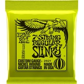 Ernie Ball 7-String Regular Slinky Nickel Wound Electric Guitar Strings (7-String Set, .010 - .056)