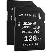 Angelbird 128GB AV Pro MK2 UHS-II SDXC Memory Card (2-Pack)