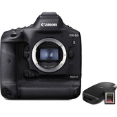 Canon EOS-1D X Mark III DSLR Camera with CFexpress Card and Reader