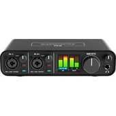 MOTU M2 2x2 USB-C Audio Interface for Recording, Mixing & Podcasting
