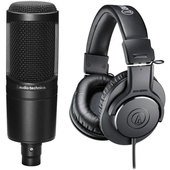 Audio Technica Studio Recording Combo Pack
