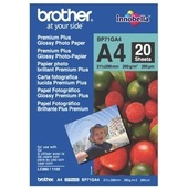 Brother BP71GA4 A4 Premium Glossy Photo Paper 260GSM 20 Sheets