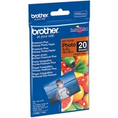 Brother BP71GP20 6x4 Premium Glossy Photo Paper 260GSM 20 Sheets