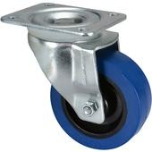 """Penn Elcom W9000-V6 100mm/3.94"""" Castor Swivel Wheel (Blue)"""