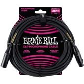 Ernie Ball 25' Male / Female Xlr Microphone Cable