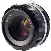 Voigtlander Ultron 40mm f/2 SL IIS Aspherical Lens for Nikon F (Black Rim)