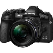 Olympus OM-D E-M1 Mark III Mirrorless Digital Camera with 12-40mm Lens