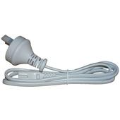 Verbatim 2 Pin Power Plug for T5 Integrated Battens White