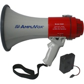 AmpliVox Sound Systems Mity-Meg Megaphone with Rechargeable Battery Pack