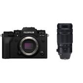 Fujifilm X-T4 Mirrorless Digital Camera with 100-400mm Lens (Black)