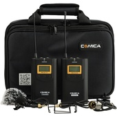Comica Audio CVM-WM100 Wireless Omnidirectional Lavalier Microphone System