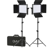 GVM Studio 2-Video Light Kit (2.1m)